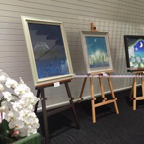 阿波銀行福島支店で個展を開催いたしました